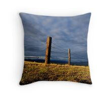 Monument to the West Throw Pillow
