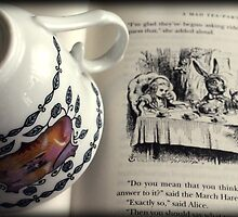 A Little Tea and Reading (Art Print)  by Lauren Trudgeon
