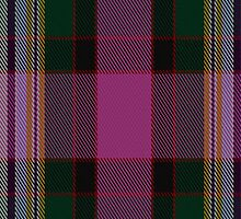 02638 Dundee Pink Variation District Tartan Fabric Print Iphone Case by Detnecs2013