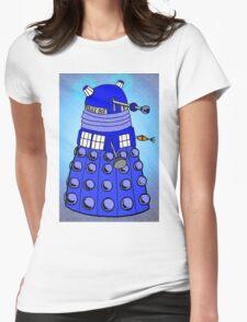 Dalek Tardis Womens Fitted T-Shirt