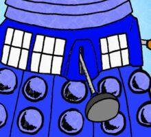 Dalek Tardis Sticker