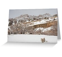 The Clouds Descend Greeting Card