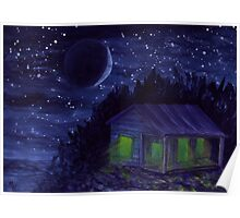 Shack #3 - Watercolor Painting Poster