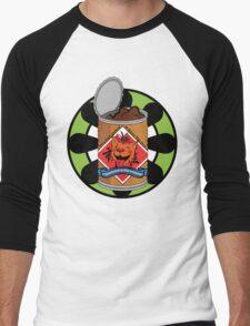 Shinra Brand Dog Chow Men's Baseball ¾ T-Shirt