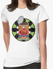 Shinra Brand Dog Chow Womens Fitted T-Shirt