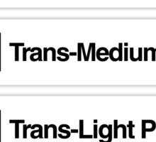 Brick Sorting Labels: Trans-Neon Yellow, Trans-Very Lt Blue, Trans-Medium Blue, Trans-Light Purple, Trans-Dark Pink Sticker