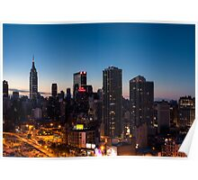 Sunrise in New York City Poster