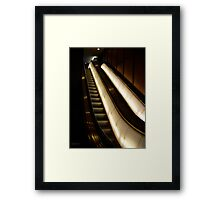 iNCLINE Framed Print