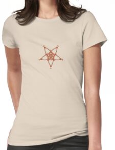 Amber Star Womens Fitted T-Shirt