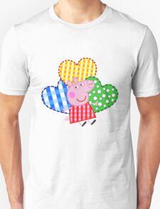 Peppa Pig Hearts T-Shirt