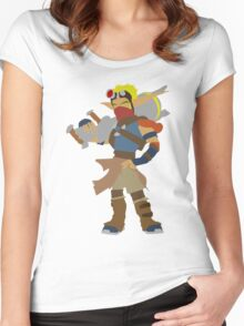 Jak 3-Jak Women's Fitted Scoop T-Shirt