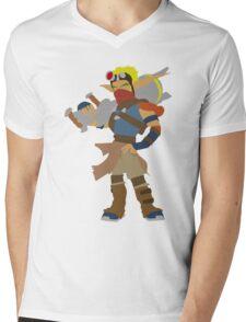 Jak 3-Jak Mens V-Neck T-Shirt