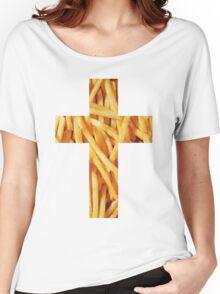 Fries - Cross Women's Relaxed Fit T-Shirt
