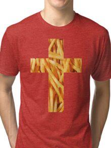 Fries - Cross Tri-blend T-Shirt