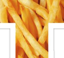Fries - Cross Sticker