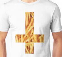 Fries - Inverted Cross Unisex T-Shirt