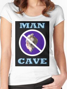 MAN CAVE Women's Fitted Scoop T-Shirt