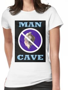MAN CAVE Womens Fitted T-Shirt