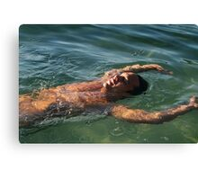 Willi Floating 1 Canvas Print