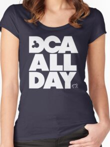 DCA All Day Women's Fitted Scoop T-Shirt