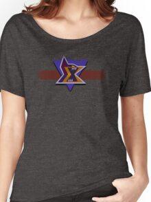 Emblem of Maverick Women's Relaxed Fit T-Shirt