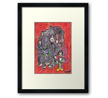 By All O'Counts Framed Print
