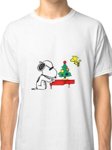 Snoopy on Piano Classic T-Shirt