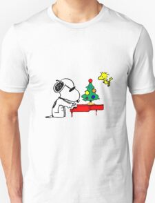 Snoopy on Piano T-Shirt
