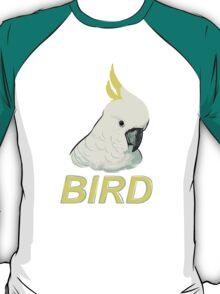 BIRD - Sulphur-crested Cockatoo T-Shirt