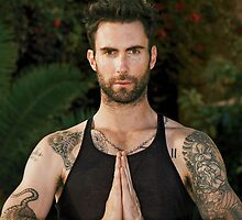Adam Levine Maroon 5 by neutrone