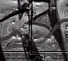 Silver Graffiti by Jeffrey  Sinnock