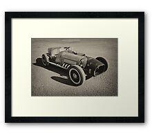 Flatrod Framed Print
