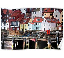 """""""Colourful Whitby"""" Poster"""