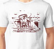 The cowboy in Big lebowski movie Unisex T-Shirt