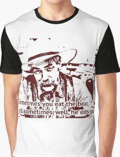 The cowboy in Big lebowski movie Graphic T-Shirt