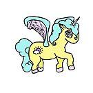 Cloudy Unicorn by loandbehold