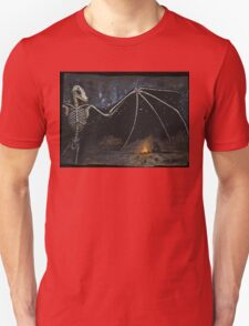 Dark Desert Night - Gather Bones album art Unisex T-Shirt