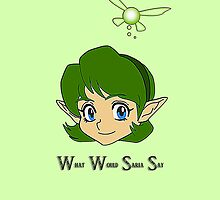 What Would Saria Say by serenefox