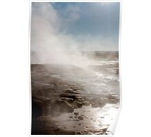 Iceland Thermal Springs Poster