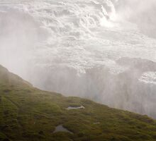 Iceland Waterfall - Gullfoss by Andrew McGuire