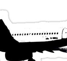 BA A320 B&W Sticker