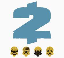 Payday 2 Skulls - Blue Kids Tee