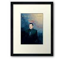 The King Of Hell ♥ Framed Print