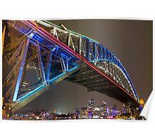 Harbour Bridge - Vivid Festival Poster