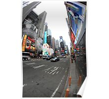 pbbyc - Times Square, NYC Poster