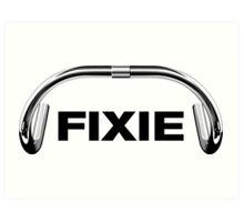 Classic Track Handlebar - FIXIE XL Art Print