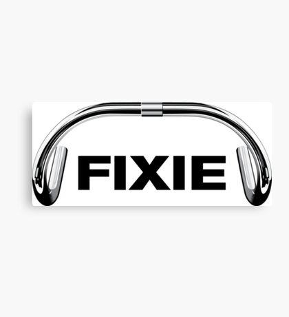 Classic Track Handlebar - FIXIE XL Canvas Print