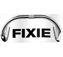 Classic Track Handlebar - FIXIE XL Poster