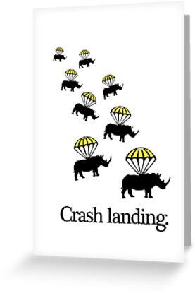 Crash Landing by jezkemp