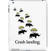 Crash Landing iPad Case/Skin